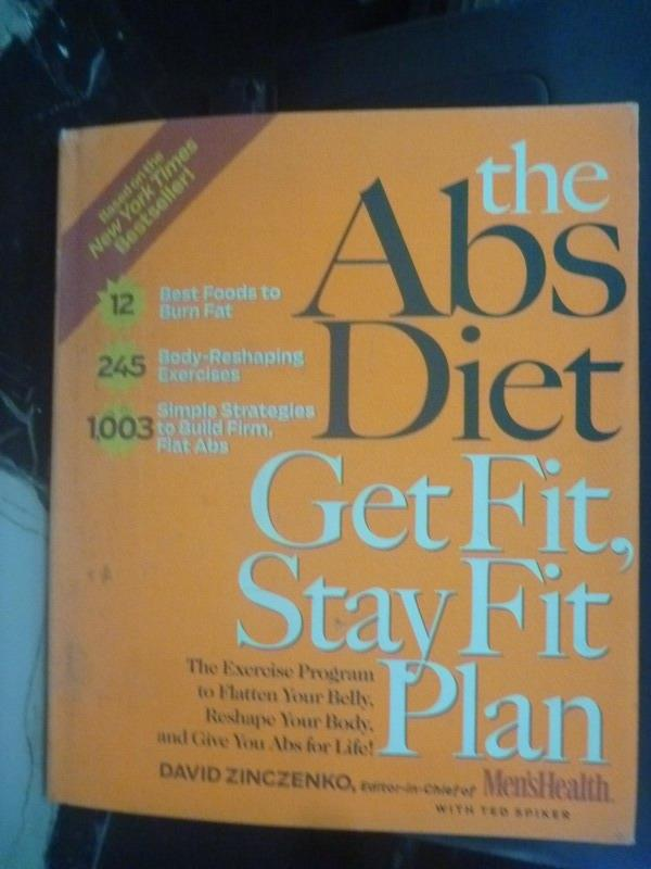 【書寶二手書T3/養生_ZDP】The Abs Diet Get Fit, Stay Fit Plan