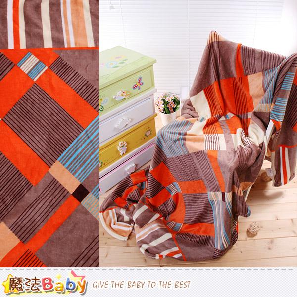 法蘭絨毛毯 140x210cm 四季毯 魔法Baby~w61006