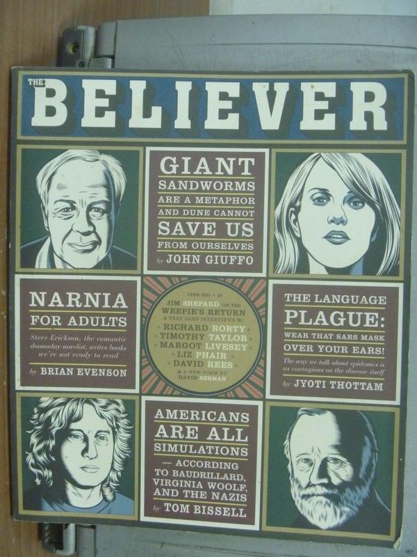 【書寶二手書T5/傳記_PCU】Believer