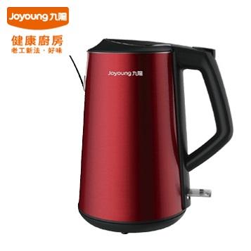 展示機  !! 九陽不鏽鋼天鵝壺 JYK-15F06M (酒紅色) 雙層304不鏽鋼材質