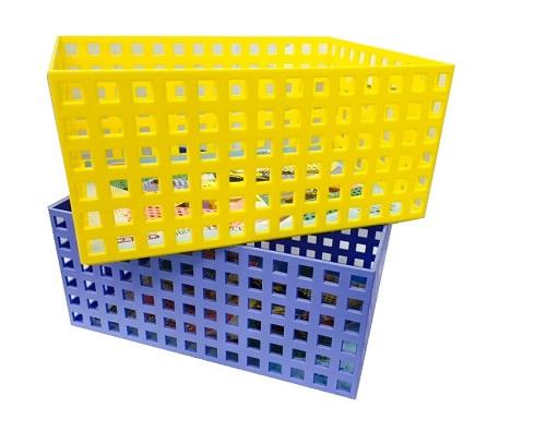 【豪上豪】吉米高大積木盒K157/吉米熊系列/置物籃/盒子/收納盒(不挑色)
