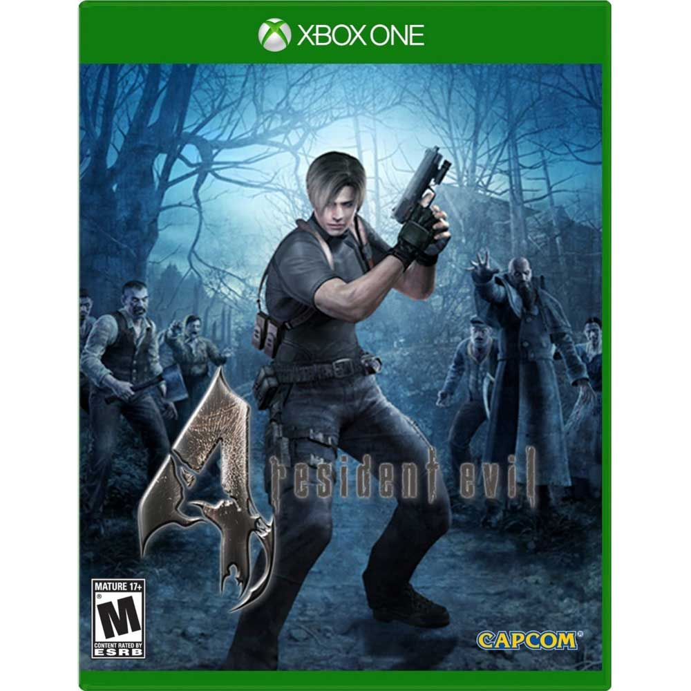 XBOX ONE 惡靈古堡 4 完整版 英文美版(含所有DLC) RESIDENT EVIL 4