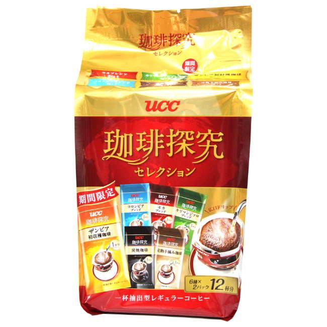 UCC 咖啡探究綜合濾掛式咖啡