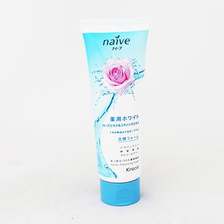 【敵富朗超巿】Kracie玫瑰淨白洗面乳
