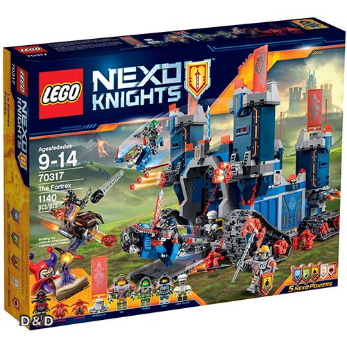 樂高積木LEGO《 LT70317 》Nexo Knights 未來騎士系列 - 未來騎士移動要塞
