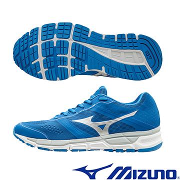 J1GE161903 (藍X白)  MIZUNO SYNCHRO MX 休閒款男慢跑鞋  Q【美津濃MIZUNO】