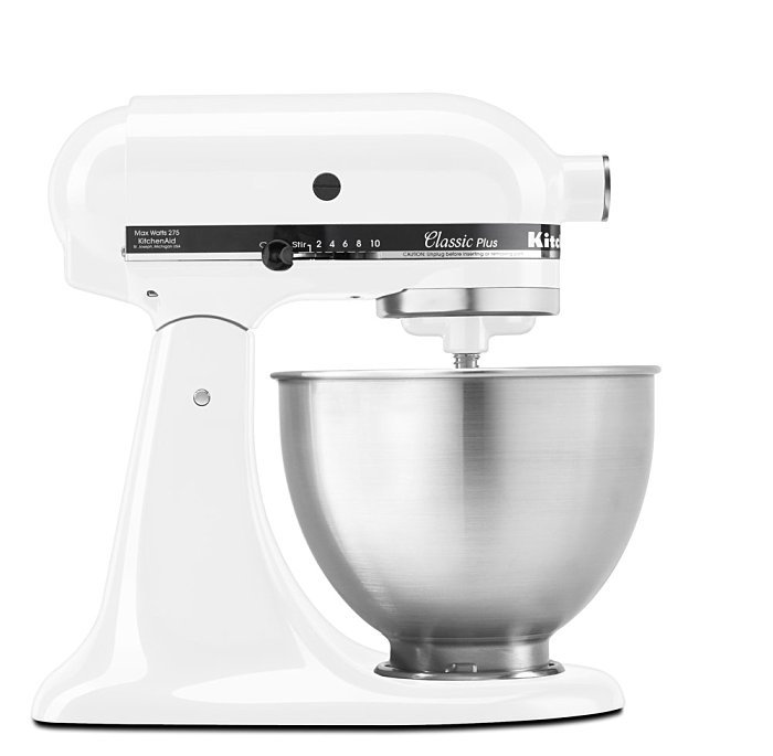 現貨 全新 美國 KitchenAid Classic Plus Tilt-Head 4.5QT白色 4-1/2-Quart Stand Mixer 5qT 6qT