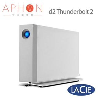 【Aphon生活美學館】LaCie 3.5吋 3TB 外接式硬碟 d2 Thunderbolt 2介面 USB3.0-送5200行動電源