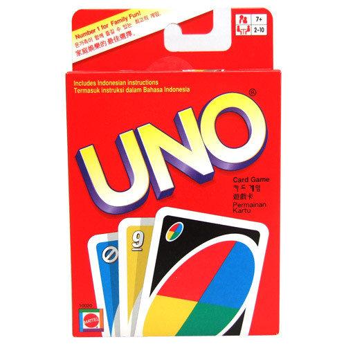 【 MATTEL 】UNO遊戲卡--基本牌組