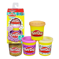 【 Play-Doh 培樂多 】甜點系列 - 甜筒冰淇淋組補充罐