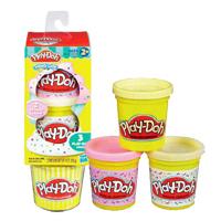 【 Play-Doh 培樂多 】甜點系列 - 杯子蛋糕組補充罐
