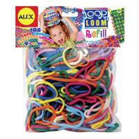 【 ALEX 】彩色套圈織布機補充包