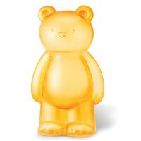 【 4M2U 】透明黃大寶貝熊存錢筒