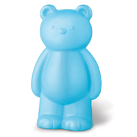 【 4M2U 】粉藍色大寶貝熊存錢筒