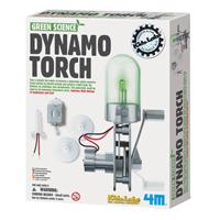 【 4M 】綠色科學系列 - 神奇發電機 Dynamo Torch