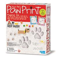 【 4M 】寶貝寵物腳拓 Your Pet's Paw Print Making Kit