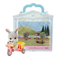 【 EPOCH 】森林家族 - 三輪車提盒
