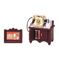 【 EPOCH 】森林家族 - 復古電話及矮桌組
