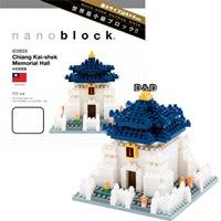 【 nanoblock 】 NBH - 038 中正紀念堂