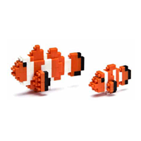 【 nanoblock 】NBC-002 小丑魚 Clown Fish