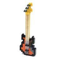 【 nanoblock 】NBC-051 貝斯 Electric Bass