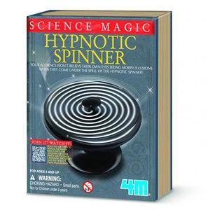《4M科學探索》科學魔術 - Hypnotic Spinner 魔幻之輪