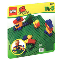 【 LEGO 樂高積木 】duplo 得寶幼兒系列 > LT2304 綠色大底板
