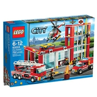 【 LEGO 樂高積木 】CITY 城市系列 > LT60004  消防局