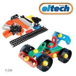 【德國 eitech】基礎系列玩具 - 衝鋒賽車 C326