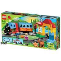 樂高積木 LEGO《 LT10507 》2013 年 Duplo 幼兒系列 - 我的第一套火車套裝