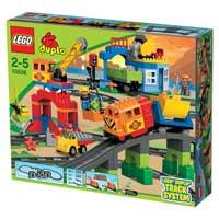 樂高積木 LEGO《 LT10508 》2013 年 Duplo 幼兒系列 - 得寶豪華火車套裝