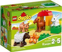 樂高積木 LEGO《 LT10522 》2014 年 Duplo 幼兒系列 - 農場動物
