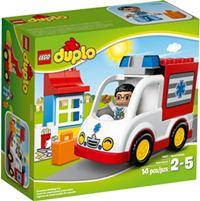樂高積木 LEGO《 LT10527 》2014 年 Duplo 幼兒系列 - 救護車