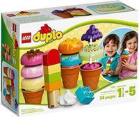 樂高積木 LEGO《 LT10574 》2014 年 Duplo 幼兒系列 - 創意冰淇淋套裝