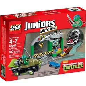 樂高積木 LEGO《 LT10669 》2014 年 Junior 系列 - Turtles Lair