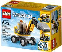 樂高積木 LEGO《 LT31014 》2014 年 Creator 創意大師系列 > 動力挖掘機