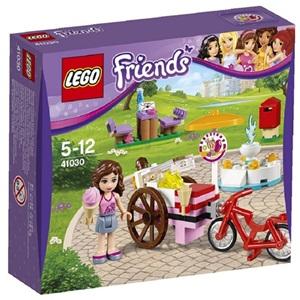 樂高積木LEGO《 LT41030 》2014 年 Friends 姊妹淘系列 > 奧莉薇亞的冰淇淋車