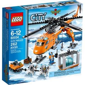 樂高積木 LEGO《 LT60034 》2014 年 CITY 城市系列 - 北極直升起重機