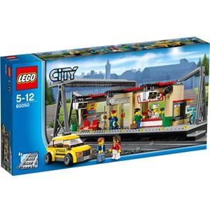 樂高積木 LEGO《 LT60050 》2014 年 CITY 城市系列 - 火車站