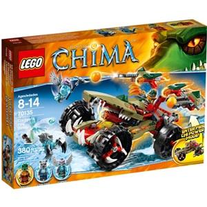 樂高積木 LEGO《 LT 70135 》2014 年 Chima 系列 > 鱷霸王Cragger的火焰攻擊器