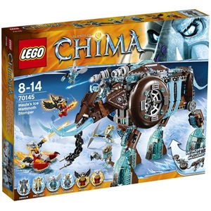 樂高積木 LEGO《 LT 70145 》2014 年 Chima 系列 > 毛拉的冰雪猛獁象重踏器