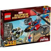 樂高積木 LEGO《 LT76016 》2014 年 SUPER HEROES 超級英雄系列 > Spider-Helicopter Rescue