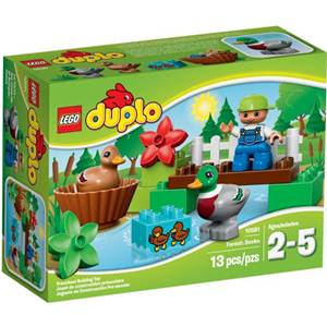 樂高積木 LEGO《 LT10581 》2015 年 Duplo 幼兒系列 - 森林小鴨
