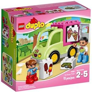 樂高積木 LEGO《 LT 10586 》2015年 Duplo 幼兒系列-冰淇淋車