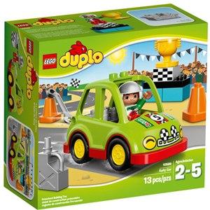 樂高積木 LEGO《 LT10589 》2015年 Duplo 幼兒系列 - 拉力賽車