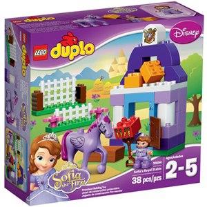 樂高積木 LEGO《 LT10594 》2015年 Duplo 幼兒系列 - 小公主蘇菲亞® 皇家馬廄