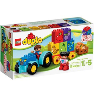 樂高積木 LEGO《 LT10615》2015年 Duplo 幼兒系列-我的第一輛拖拉機
