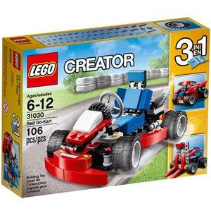 樂高積木LEGO《 LT31030 》2015 年 Creator 創意大師系列 - 紅色卡丁車