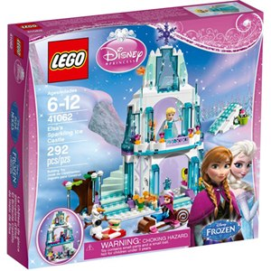 樂高積木LEGO《 LT41062 》2015 年迪士尼公主系列 - 艾莎的閃亮冰雪城堡