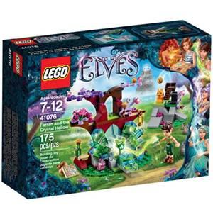 樂高積木 LEGO《 LT41076 》2015 年 Elves 精靈系列 - 法藍和水晶洞
